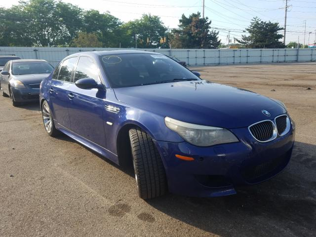 Salvage cars for sale from Copart Moraine, OH: 2008 BMW M5