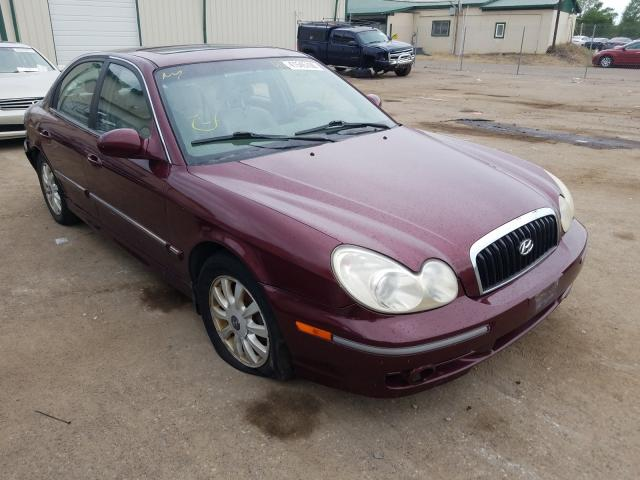 clean title 2002 hyundai sonata sedan 4d 2 7l for sale in ham lake mn 41545700 a better bid car auctions