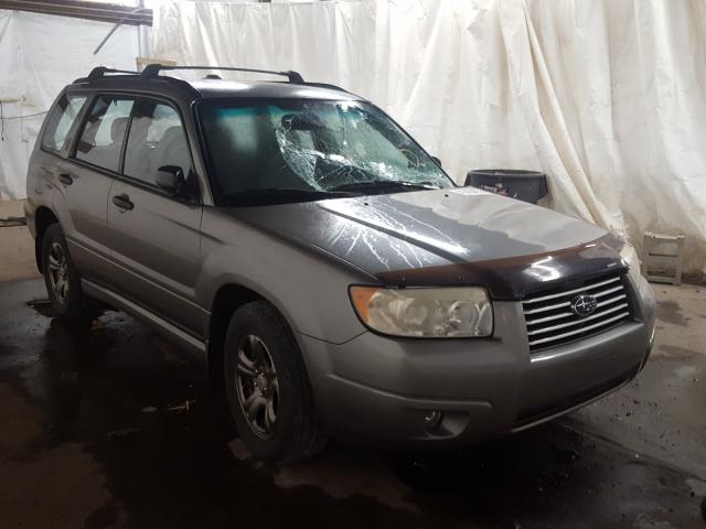 Salvage cars for sale from Copart Ebensburg, PA: 2006 Subaru Forester 2