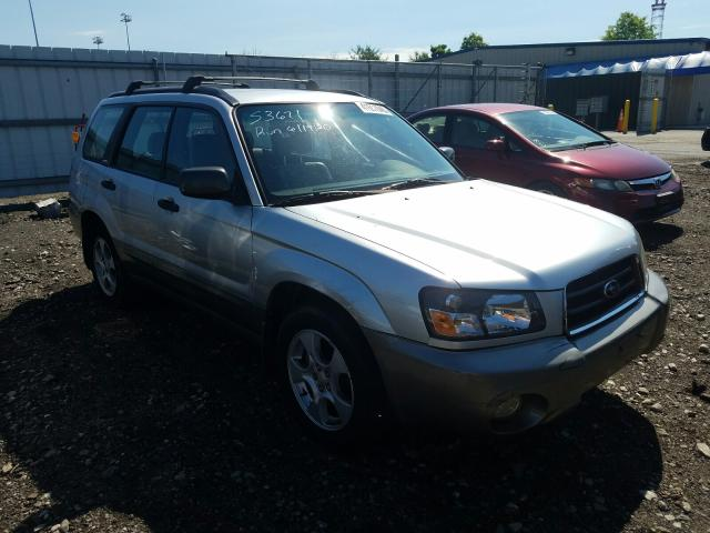 Subaru salvage cars for sale: 2004 Subaru Forester 2