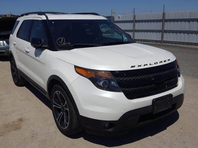 Ford Explorer S salvage cars for sale: 2013 Ford Explorer S