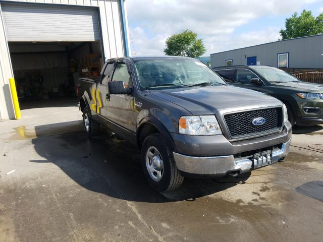 Salvage cars for sale from Copart Duryea, PA: 2005 Ford F150