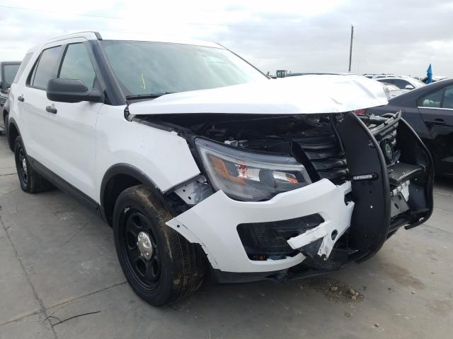 Salvage cars for sale from Copart Grand Prairie, TX: 2019 Ford Explorer P