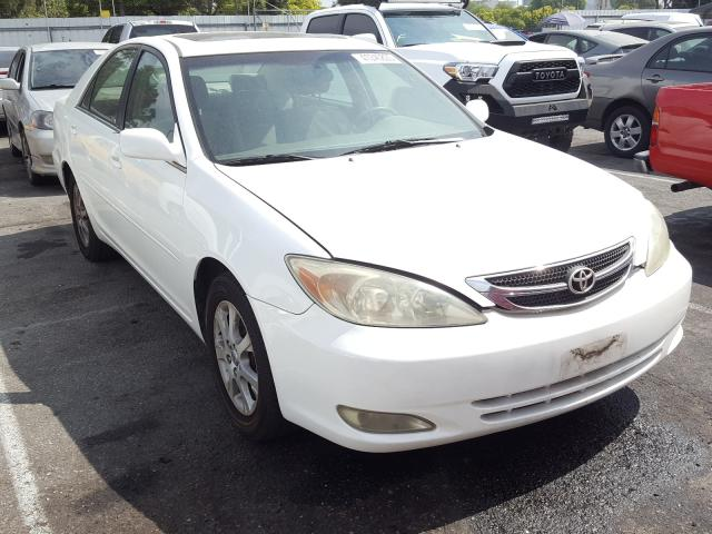 Salvage cars for sale from Copart Rancho Cucamonga, CA: 2004 Toyota Camry LE