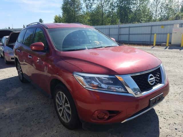 Nissan salvage cars for sale: 2016 Nissan Pathfinder