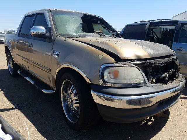 Ford salvage cars for sale: 2002 Ford F150 Super