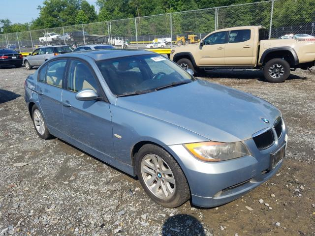 Salvage cars for sale from Copart Waldorf, MD: 2007 BMW 328 I