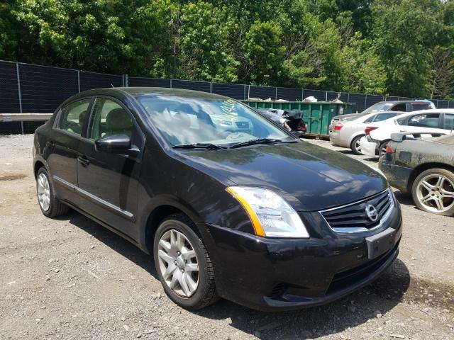Salvage cars for sale from Copart Waldorf, MD: 2012 Nissan Sentra 2.0