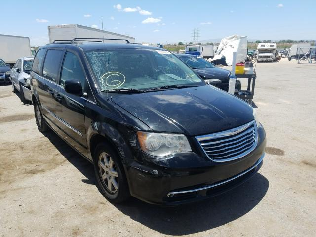Salvage cars for sale from Copart Tucson, AZ: 2012 Chrysler Town & Country