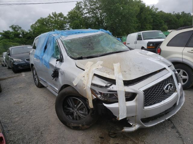 Salvage cars for sale from Copart Marlboro, NY: 2020 Infiniti QX60 Luxe