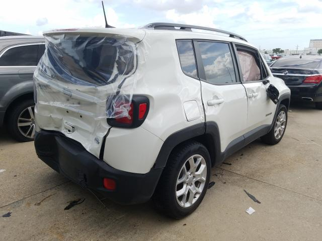 2018 JEEP RENEGADE L - Right Rear View