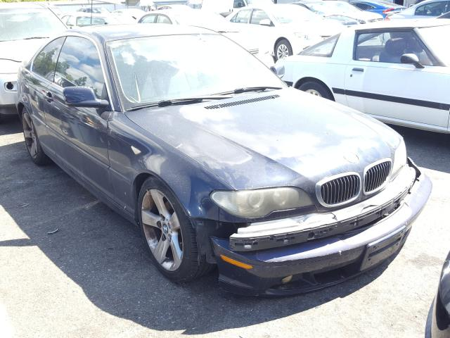 Salvage cars for sale from Copart Rancho Cucamonga, CA: 2004 BMW 325 CI