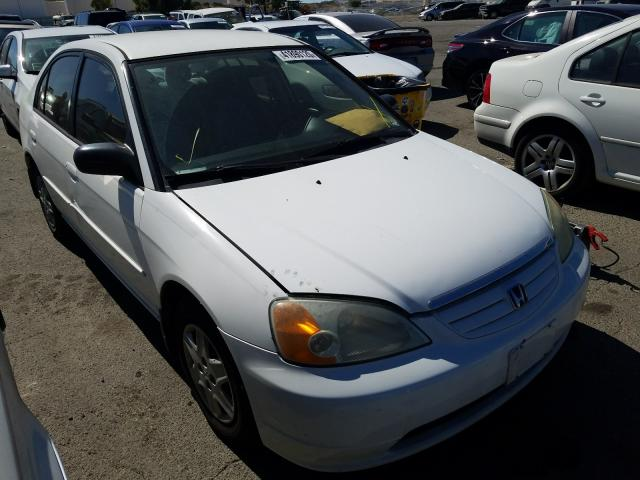Salvage cars for sale from Copart Martinez, CA: 2003 Honda Civic LX