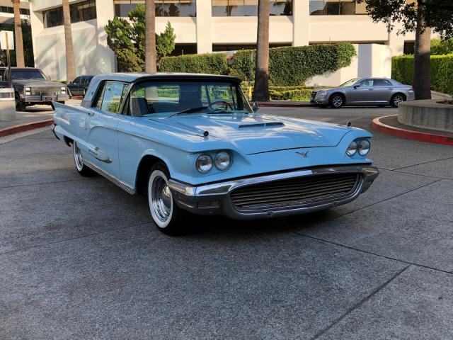 Ford Thunderbird salvage cars for sale: 1959 Ford Thunderbird