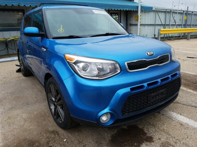 Salvage cars for sale from Copart Pekin, IL: 2015 KIA Soul +