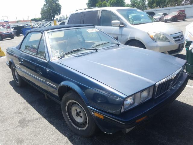 Maserati salvage cars for sale: 1986 Maserati Spyder