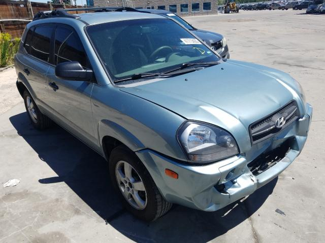 Hyundai Tucson GL salvage cars for sale: 2006 Hyundai Tucson GL