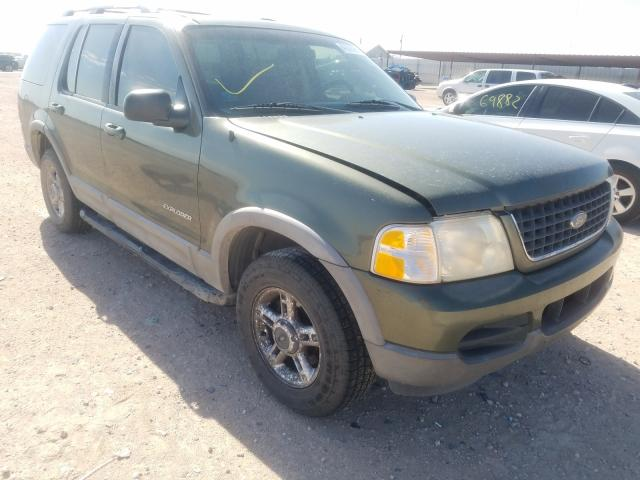 Salvage cars for sale from Copart Andrews, TX: 2002 Ford Explorer X