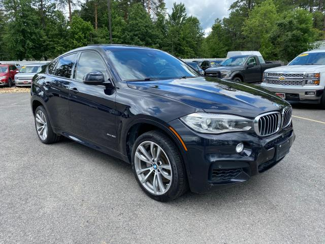 Salvage cars for sale from Copart North Billerica, MA: 2015 BMW X6 XDRIVE5