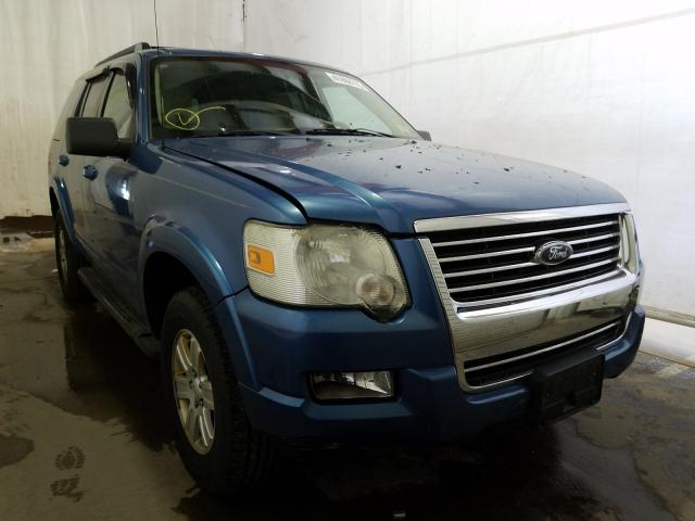 Salvage cars for sale from Copart Central Square, NY: 2009 Ford Explorer X