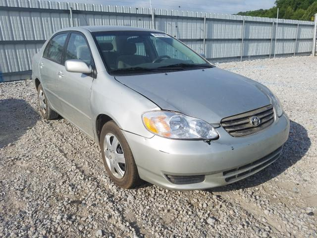 Salvage cars for sale from Copart Prairie Grove, AR: 2004 Toyota Corolla CE
