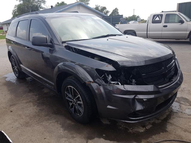 Salvage cars for sale from Copart Sikeston, MO: 2018 Dodge Journey SE