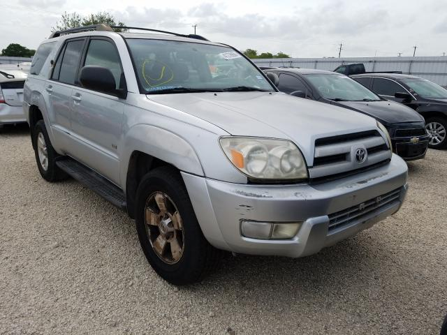 Salvage cars for sale from Copart San Antonio, TX: 2003 Toyota 4runner SR