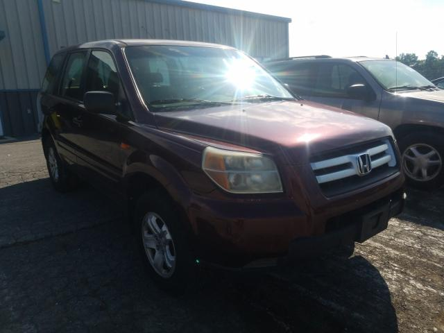 Salvage cars for sale from Copart Chambersburg, PA: 2007 Honda Pilot LX