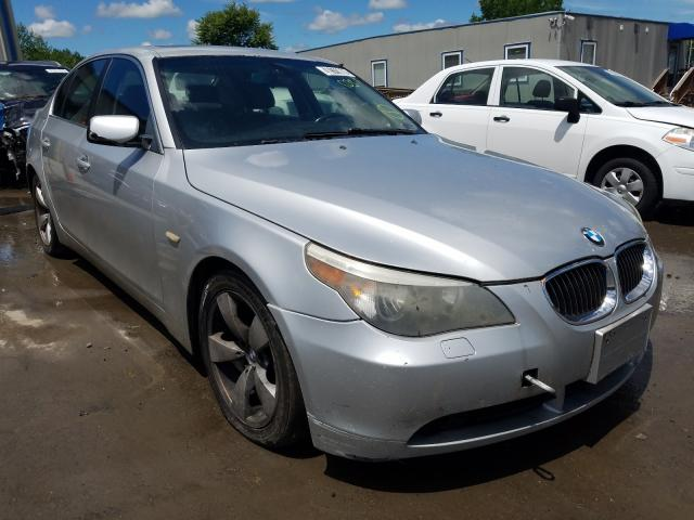 Salvage cars for sale from Copart Duryea, PA: 2007 BMW 525 I