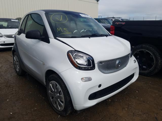 Smart Fortwo salvage cars for sale: 2016 Smart Fortwo