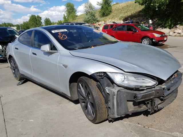 Vehiculos salvage en venta de Copart Littleton, CO: 2014 Tesla Model S