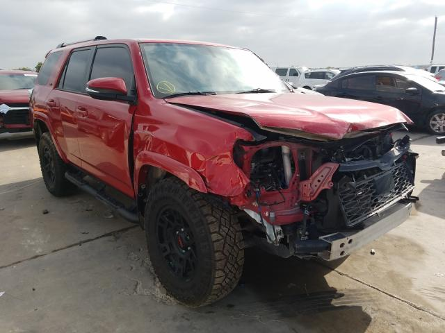 Salvage cars for sale from Copart Grand Prairie, TX: 2020 Toyota 4runner SR