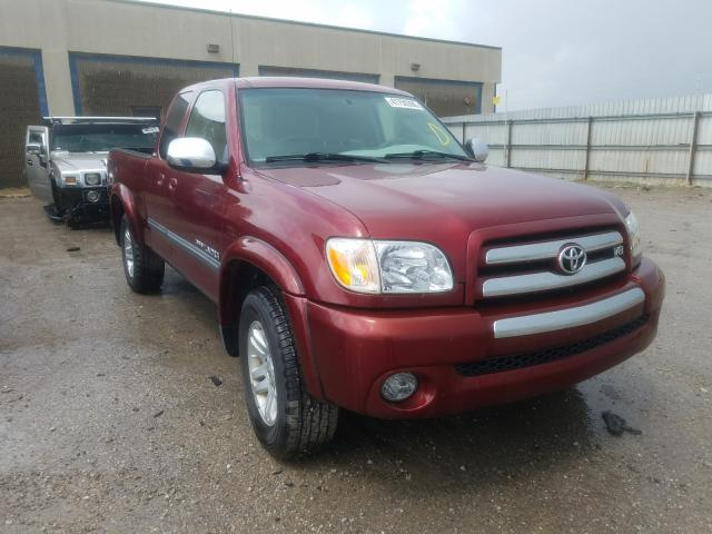 Toyota salvage cars for sale: 2005 Toyota Tundra ACC