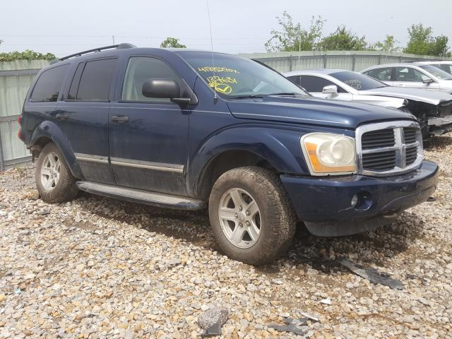 Vehiculos salvage en venta de Copart Kansas City, KS: 2004 Dodge Durango LI