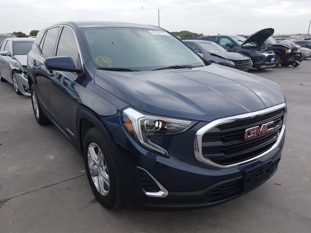 Salvage cars for sale from Copart Grand Prairie, TX: 2018 GMC Terrain SL