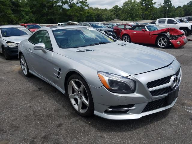 Mercedes-Benz salvage cars for sale: 2016 Mercedes-Benz SL 400