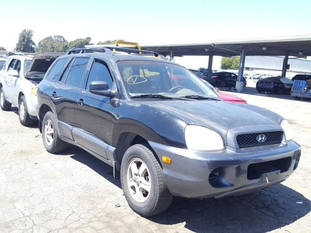 Salvage cars for sale from Copart Hayward, CA: 2004 Hyundai Santa FE G