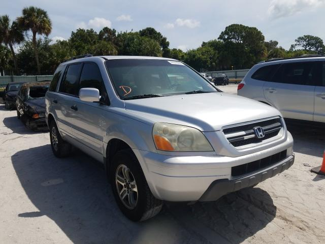 Salvage cars for sale from Copart Fort Pierce, FL: 2005 Honda Pilot EXL