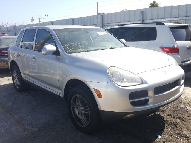 Porsche salvage cars for sale: 2004 Porsche Cayenne