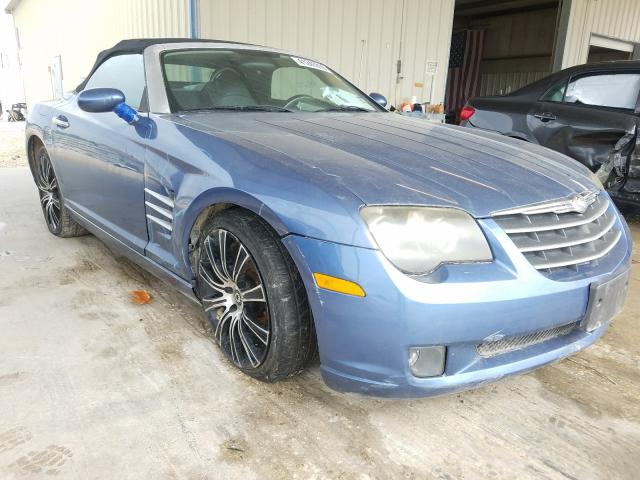 Salvage cars for sale from Copart San Antonio, TX: 2005 Chrysler Crossfire