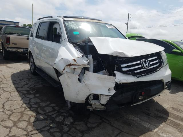 Honda Pilot EXL salvage cars for sale: 2013 Honda Pilot EXL