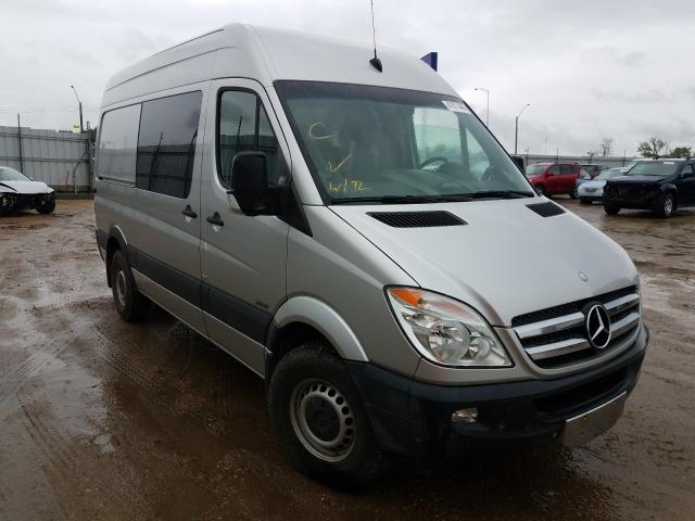Mercedes-Benz salvage cars for sale: 2011 Mercedes-Benz Sprinter 2