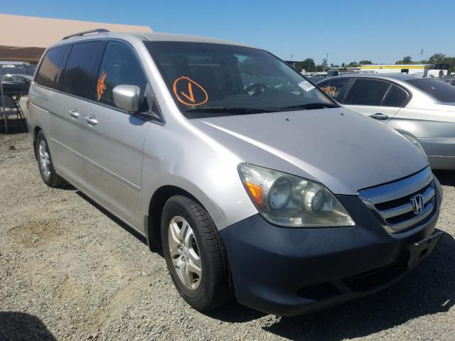 Salvage cars for sale from Copart Antelope, CA: 2007 Honda Odyssey EX