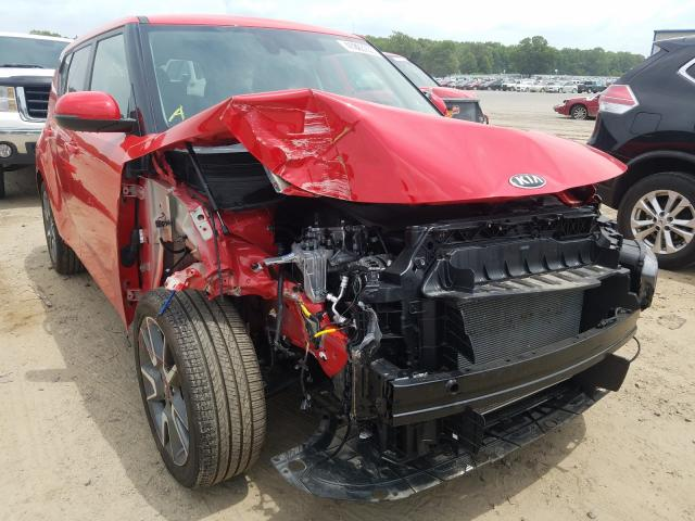 KIA Soul GT LI salvage cars for sale: 2020 KIA Soul GT LI