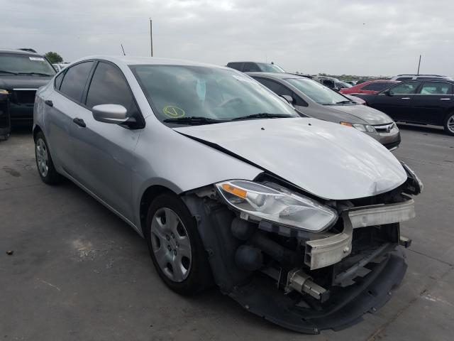 Salvage cars for sale from Copart Grand Prairie, TX: 2013 Dodge Dart SE