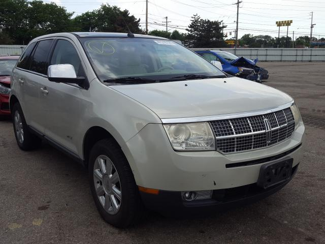 Salvage cars for sale from Copart Moraine, OH: 2007 Lincoln MKX