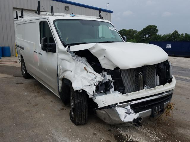 Salvage cars for sale from Copart Rogersville, MO: 2019 Nissan NV 2500 S