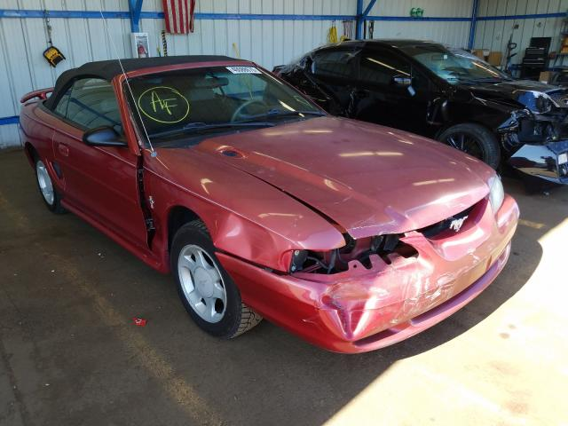 Ford Mustang salvage cars for sale: 1998 Ford Mustang