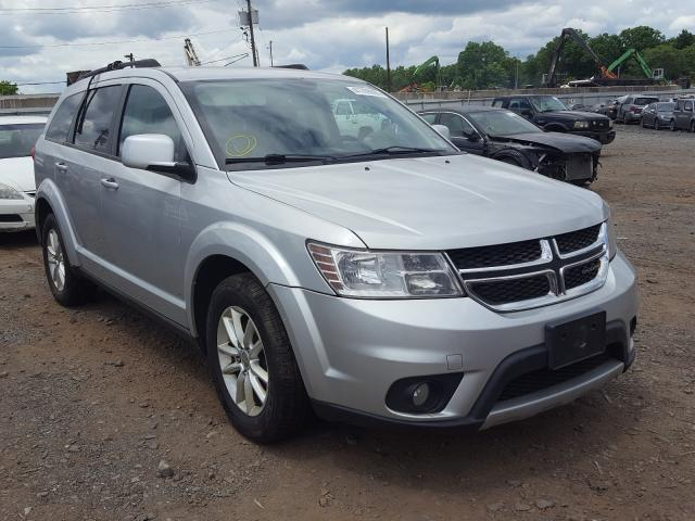 Salvage cars for sale from Copart Hillsborough, NJ: 2014 Dodge Journey SX
