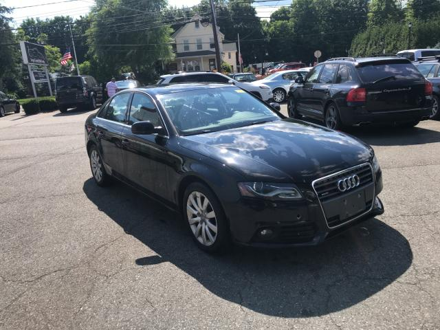 Salvage cars for sale from Copart Hillsborough, NJ: 2010 Audi A4 Premium